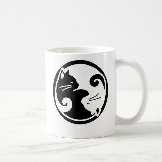 陰陽猫 コーヒーマグカップ
