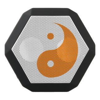 陰陽-オレンジ2 ブラックBluetoothスピーカー