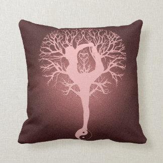 陰陽、ヨガ、アメリア著調和生命の樹 クッション