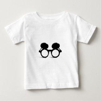 陰-サングラスの上のフリップ ベビーTシャツ