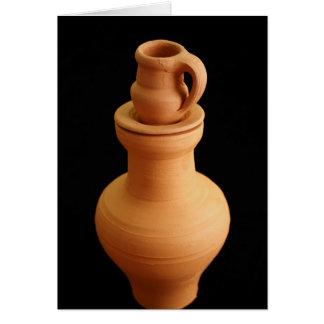 陶器の静物画 カード