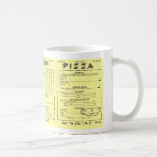 陶工のピザメニューマグ コーヒーマグカップ
