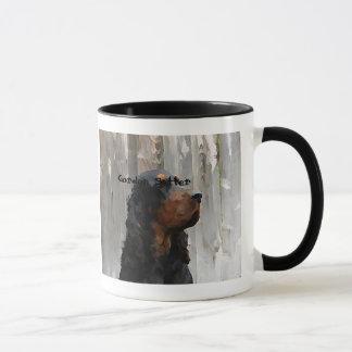 陶磁器のマグのゴードンセッターの頭部の絵画 マグカップ