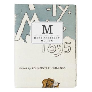 陸上の月刊雑誌。 1895年5月 エクストララージMoleskineノートブック