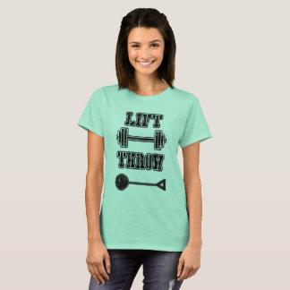 陸上競技のハンマー投げの選手のTシャツ Tシャツ