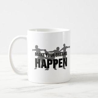 陸上競技の円盤投げのコーヒー・マグのギフト コーヒーマグカップ