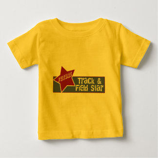 陸上競技のTシャツおよびギフト ベビーTシャツ