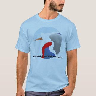 陸上競技-ベストの投球 Tシャツ