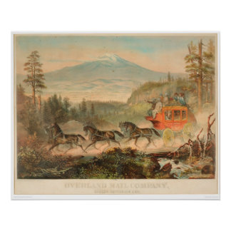 陸上Mail Company (1268A) ポスター