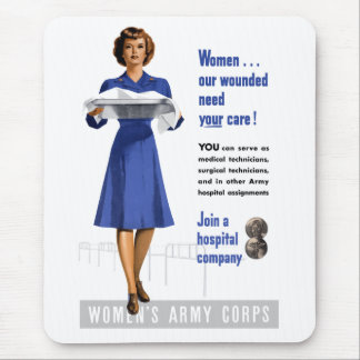 陸軍婦人部 マウスパッド
