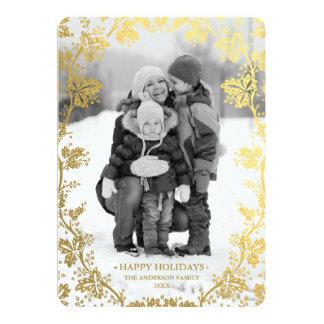 陸軍少佐の階級章の休日の写真カード カード