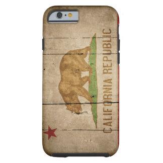 険しいカリフォルニア旗のiPhone 6の場合 ケース