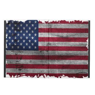 険しい米国の旗のiPadの空気箱 iPad Airケース