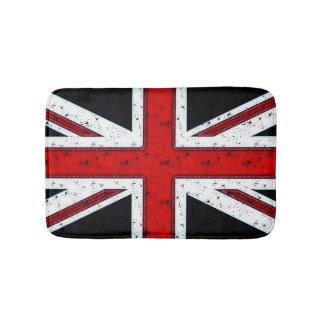 険しい英国国旗 バスマット
