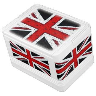 険しい英国国旗 IGLOO クーラーボックス