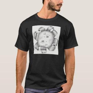 険悪な切れ間1 Tシャツ