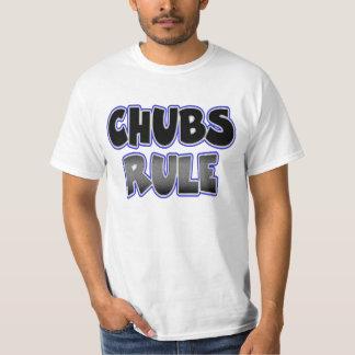 陽気なぽっちゃりしたチェーサーのChubsの規則 Tシャツ