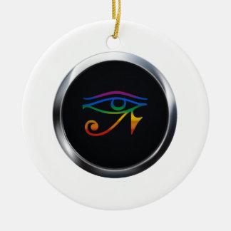 陽気なゴシックのプライドの円形浮彫り セラミックオーナメント