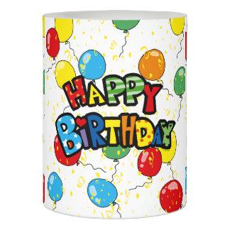 陽気なハッピーバースデーの気球のパーティ LEDキャンドル