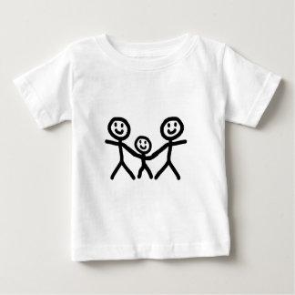 陽気なパパは採用します ベビーTシャツ