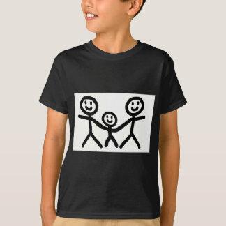 陽気なパパは採用します Tシャツ
