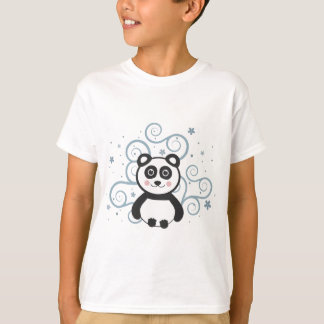 陽気なパンダのTシャツ Tシャツ