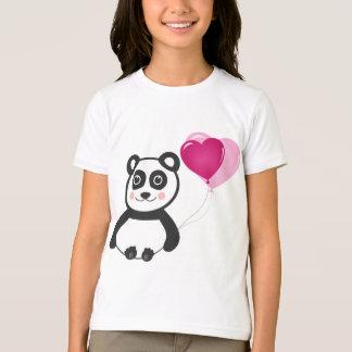 陽気なパンダ Tシャツ