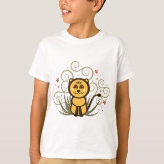 陽気なライオンのTシャツ Tシャツ