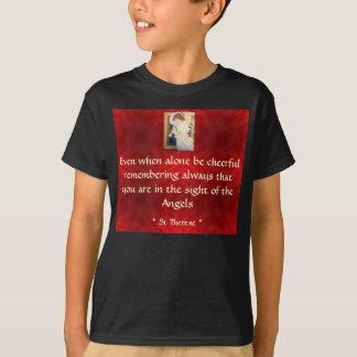 陽気な子供のワイシャツがあって下さい Tシャツ