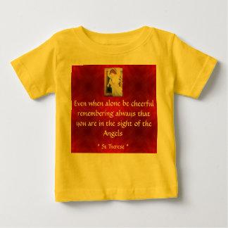 陽気な幼児ワイシャツがあって下さい ベビーTシャツ