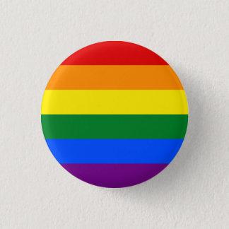 陽気な旗ボタン 3.2CM 丸型バッジ