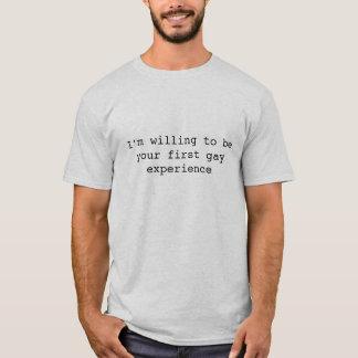 陽気な経験 Tシャツ