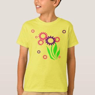 陽気な花 Tシャツ