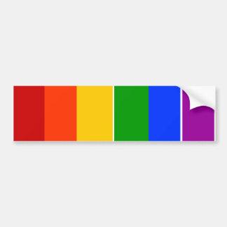 陽気なLGBTの虹 バンパーステッカー