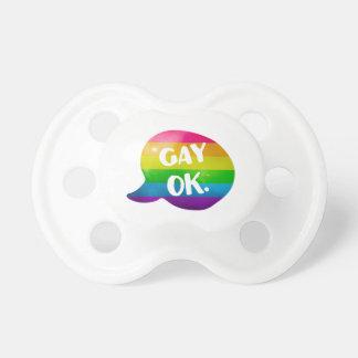 陽気なOk LGBTのプライド おしゃぶり