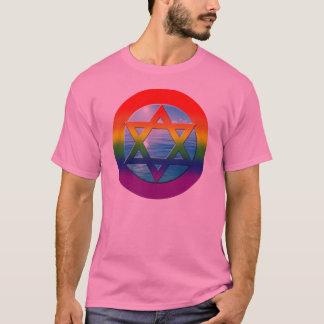 陽気なTシャツ- 02ダビデの星 Tシャツ