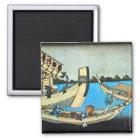 隅田川、北斎のSumidaの川、Hokusai、Ukiyo-e マグネット