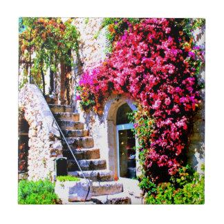 階段および窓 タイル
