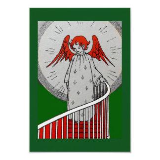 階段の上の天使 カード