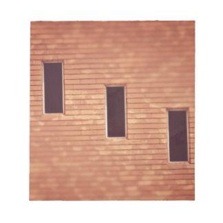 階段の窓 メモ帳