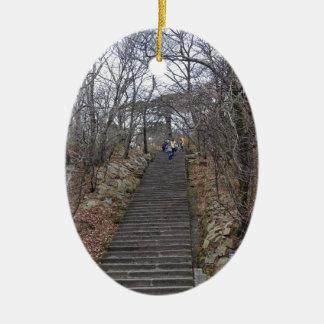 階段 セラミックオーナメント