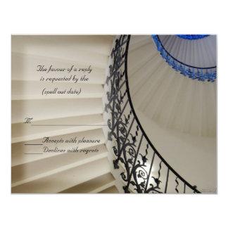 階段rsvp カード