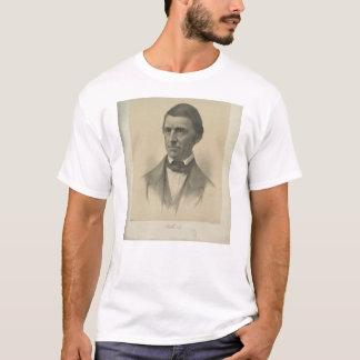 随筆家のラルフ・ワルド・エマーソンのアメリカのポートレート Tシャツ
