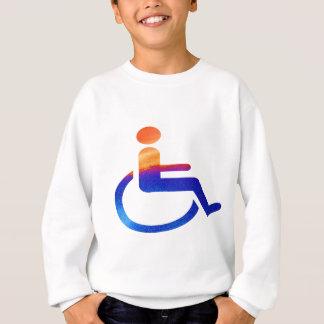 障害がある スウェットシャツ