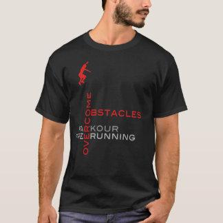 障害を克服して下さい:: 黒 Tシャツ