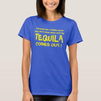 隠された才能のテキーラのパーティーのワイシャツ Tシャツ