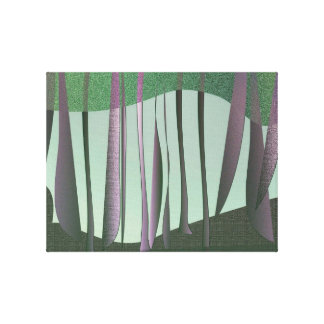 隠された森林包まれたなキャンバス キャンバスプリント