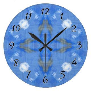 隠された深さの抽象芸術 ラージ壁時計