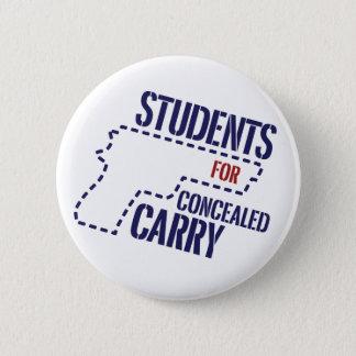隠されるのための学生はロゴボタンを運びます 5.7CM 丸型バッジ