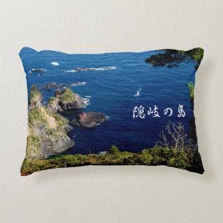 隠岐の島の展望台からの景色☆ アクセントクッション